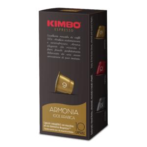 Scatola Kimbo Capsule Fronte Armonia