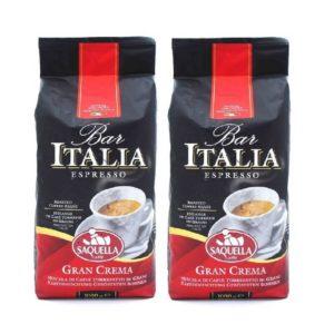 Saquella Espresso Bar Italia Gran Crema 1000 G