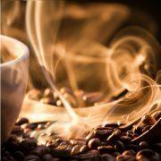 Strange,golden,smoke,taking,away,from,coffee,seeds